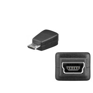 usb 2 0 mini buchse 5pin auf micro usb b stecker adapter. Black Bedroom Furniture Sets. Home Design Ideas