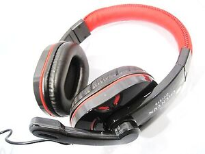 USB-Kopfhoerer-Gaming-Headset-Super-BASS-fuer-Laptop-PC-PS3-XBOX360-USB-2-0