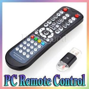 usb media mce desktop computer pc fernbedienung remote controller f r xp vista 7 ebay. Black Bedroom Furniture Sets. Home Design Ideas