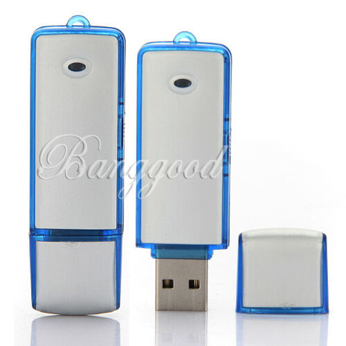 USB Spy Flash Drive Digital Audio Voice Recorders Pen with Recording 150 Hrs 8GB