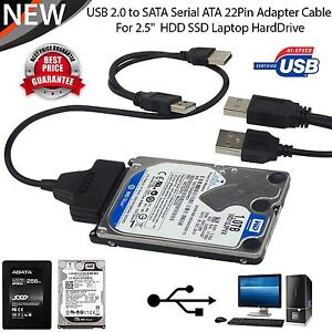 usb zu sata externe festplatte ssd festplatte adapter 2 5 konverter kabel ebay. Black Bedroom Furniture Sets. Home Design Ideas