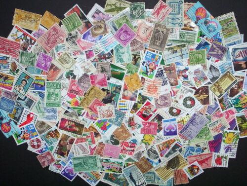 USED lot of 60 mixed all different US stamps off paper - nice starter set in Stamps, United States, Collections, Lots | eBay