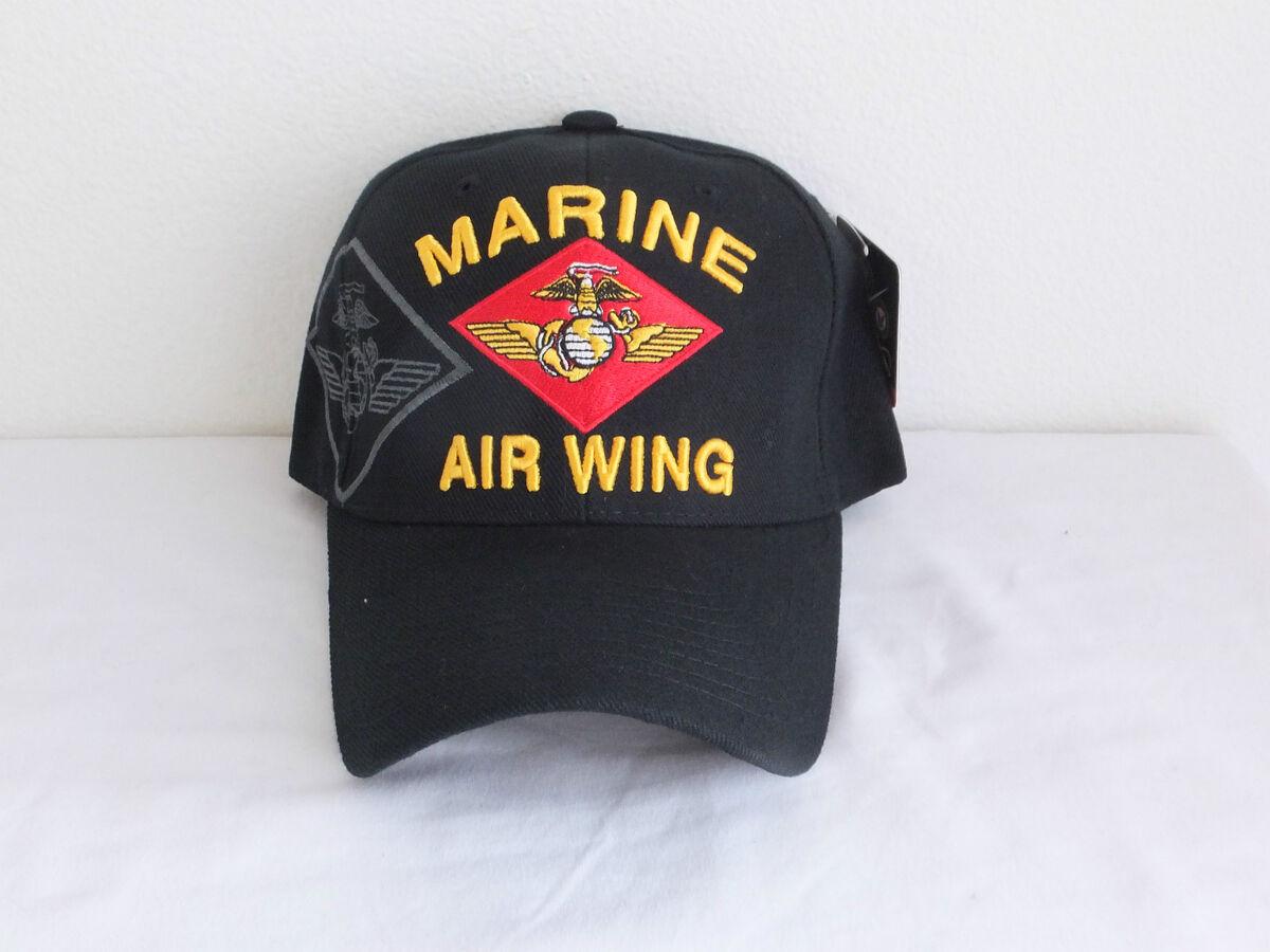 USMC Marine Air Wing Maw Military Ball Cap Marine Corps Hat