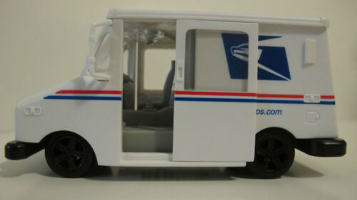USPS POSTAL SERVICE MAIL DELIVERY TRUCK PULL BACK ACTION, SLIDING DOORS in Toys & Hobbies, Diecast & Toy Vehicles, Cars, Trucks & Vans | eBay