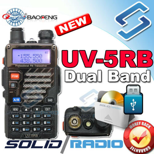 UV-5RB BAOFENG Dual Feq UHF/VHF Radio + FREE USB Program Cable + CD UV-5R in Consumer Electronics, Radio Communication, Ham, Amateur Radio | eBay