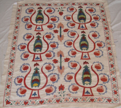 UZBEK SUZANI HANDMADE EMBROIDERY FROM BUHARA (NURATA) 149 in Antiques, Linens & Textiles (Pre-1930), Embroidery | eBay