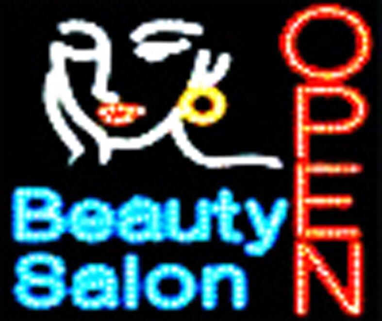 led neon light hair cut beauty salon open business sign b61 ebay. Black Bedroom Furniture Sets. Home Design Ideas