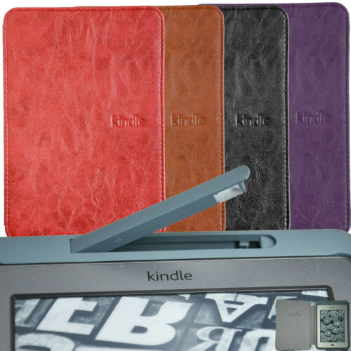Ultra Slim Case Cover WITH Build In LED Light For AMAZON KINDLE TOUCH 4COLOR +SP in Computers/Tablets & Networking, Other | eBay