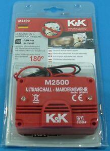 Ultraschall-Marderscheuche-M2500-Marderabwehr-Marderschreck-CAN-BUS-M-i-Germany