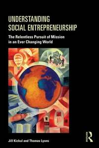 Book jacket for Understanding Social Entrepreneurship