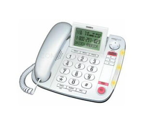 Uniden CEZ260 W Single Line Corded Phone