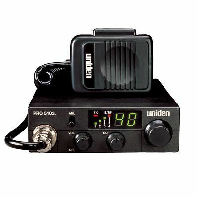 Uniden Pro Series PRO510XL 40-Channel Mobile CB Radio Compact 2-Way LED Display in Consumer Electronics, Radio Communication, CB Radios | eBay