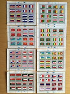 United Nations UN Uno Nationen 8 Blöcke 128 Marken, postfrisch, MNH ** - Siegen, Deutschland - United Nations UN Uno Nationen 8 Blöcke 128 Marken, postfrisch, MNH ** - Siegen, Deutschland