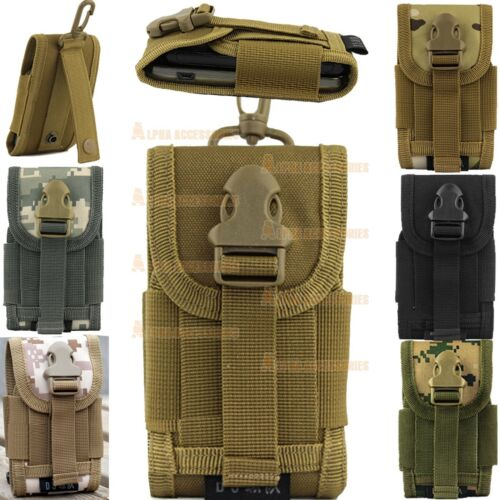 Universal-Army-Bag-For-Mobile-Phone-Belt-Loop-Hook-Cover-Case-Pouch-Holster-New