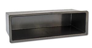 Universal-Autoradio-Radio-Ablagefach-Fach-Schacht-Rahmen-Blend-1-DIN-WM-0001W
