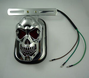 Universal-Motorcycle-fashional-LED-SKULL-HEAD-REAR-TAIL-light-for-ATV-E-bike