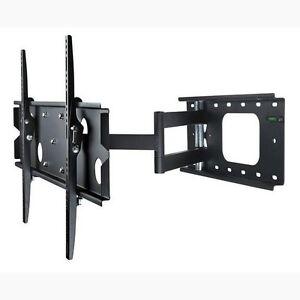 universal tilt swivel articulating corner tv wall mount bracket 42 50 52 55 inch ebay. Black Bedroom Furniture Sets. Home Design Ideas