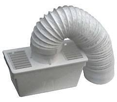 Universal-TUMBLE-DRYER-CONDENSER-VENT-KIT-Venting-Box-with-hose-pipe-all-makes
