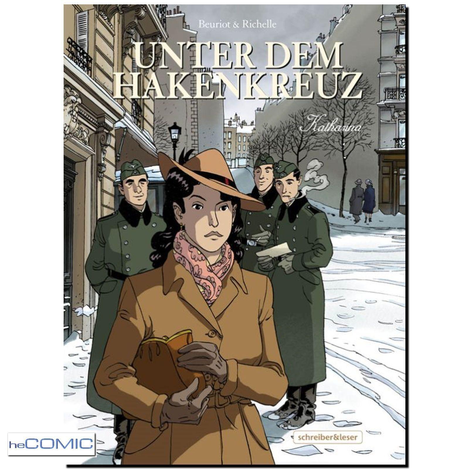 heComic: HISTORY | 2:Weltkrieg 1940 Unter dem Hakenkreuz von Beuriot & Richelle (Drama + Abenteuer)