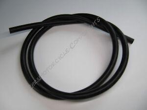 Unterdruckschlauch-Silikonschlauch-schwarz-4mm-universell-Turbo-Meterware-Neu
