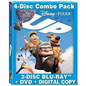 Up (Blu-ray/DVD, 2009, 4-Disc Set, Inclu...