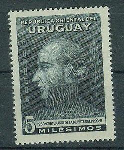 Uruguay-Briefmarken-1952-General-Artigas-Mi-757