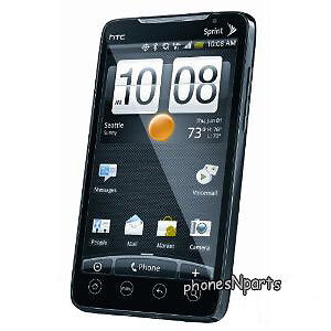 Used Sprint HTC Evo 4G CDMA Smart Phone Android Google WiFi
