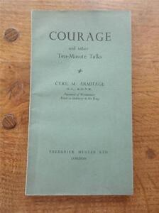 V-Rare-Book-1st-Ed-1942-COURAGE-Other-10-minute-Talks-by-The-Kings-Priest