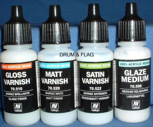 Vallejo Varnishes