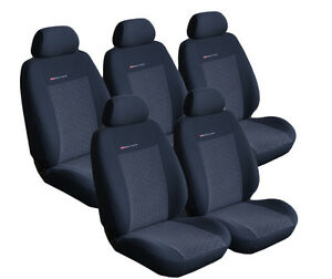 VAN FORD S MAX 5 PERSON CAR SEAT COVER CUSTOM FIT FULL SET