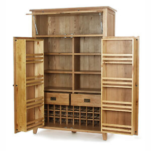 vancouver oak kitchen furniture large grand larder food