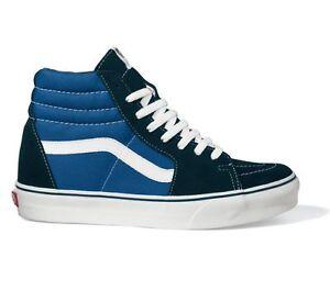 VANS-Sk8-Hi-Navy-Blau-Skate-Schuhe-NEU-D5INVY-Gr-39-48