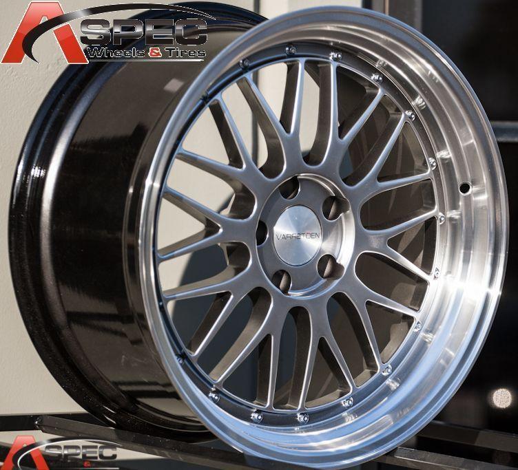 19x9 5 R 19x11 5x120 Hyper Black Rim Wheel Fit BMW E90 335i M3