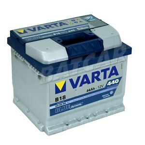varta blue dynamic b18 44 ah 44ah autobatterie ford ka fiesta fusion c max ebay. Black Bedroom Furniture Sets. Home Design Ideas