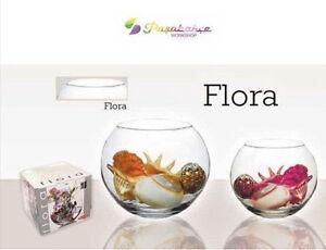 Vaso rotondo sfera in vetro acquario vasi per confettata for Vasi per confettata on line