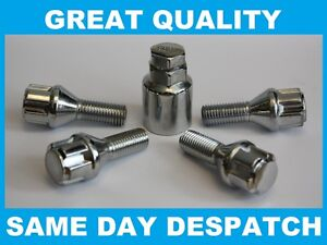 VAUXHALL-CORSA-C-ALLOY-WHEEL-LOCKING-BOLTS-M12-X-1-5-LOCK-BOLTS