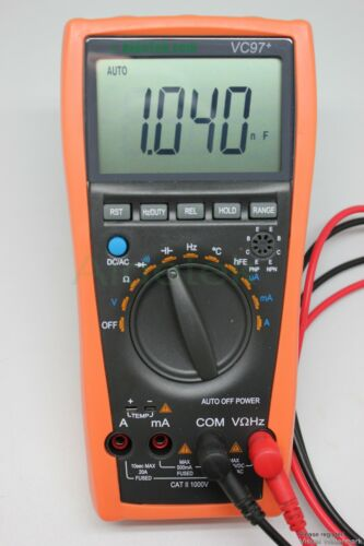 VC97 multimeter AC DC voltage current Capacitance Resistance tester vs FLUKE 15B in Business & Industrial, Electrical & Test Equipment, Test Equipment | eBay
