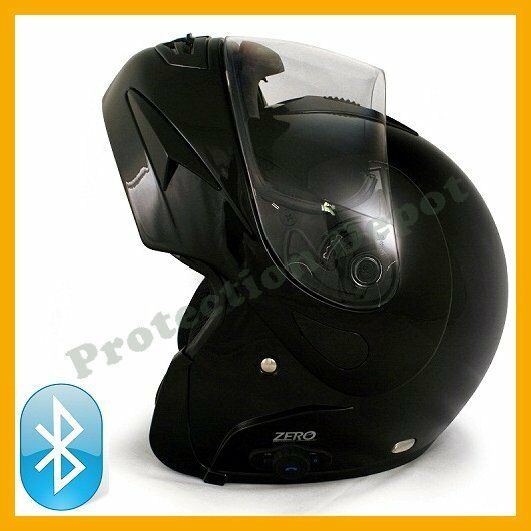 Vcan Zero V200 Bluetooth Modular Flip Up Motorcycle Helmet Glossy