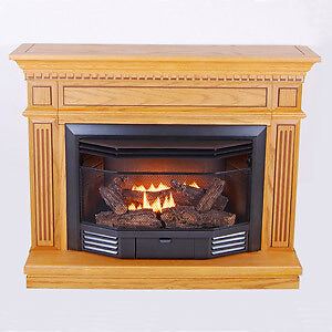 ventless gas stove heater fireplace natural gas propane ebay