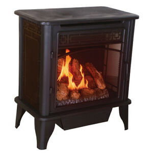 Ventless Gas Stove Heater Fireplace Propane Natural Gas Ebay