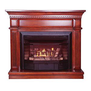 ventless stove heater fireplace gas propane lp