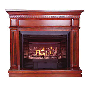 Ventless Stove Heater Fireplace Natural Gas Propane LP
