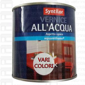 Vernice per legno all 39 acqua syntilor vari colori e quantita 39 aquar thane ebay - Vernice per finestre in legno ...