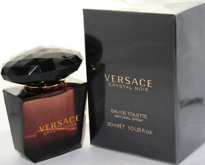 Versace Crystal Noir by Versace 1 0 oz EDT for Women 8018365070165 | eBay