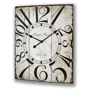 Very Large Wall Clock Kitchen Hall Station 6316 Ebay