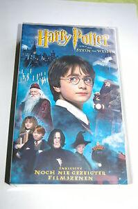 VHS-Videokassette-034-Harry-Potter-und-der-Stein-der-Weisen-034-Video-Kassette