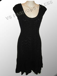 VICTORIAS-SECRET-CROCHET-DRESS-BLACK-XS-79-50