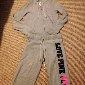 VICTORIAu0026#39;S SECRET PINK LAS VEGAS EXCLUSIVE LIMITED SEQUIN JOGGING OUTFIT SET | eBay