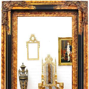 vienna classic wandspiegel holz rahmen spiegel gro antik gold schwarz ebay. Black Bedroom Furniture Sets. Home Design Ideas