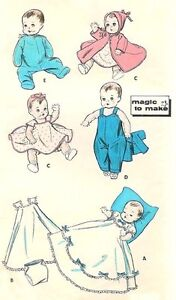 12 BABY DOLL CLOTHES PATTERN « PATTERNS